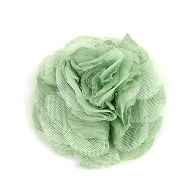 [헤어보우] Lobelia 헤어핀-Softgreen