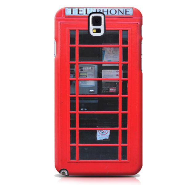 프리미엄 레드 영국 전화박스(갤럭시노트4)