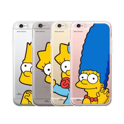 [SIMPSONS]코쿼드 심슨 포인트 클리어 케이스-아이폰6/6s/6s플러스