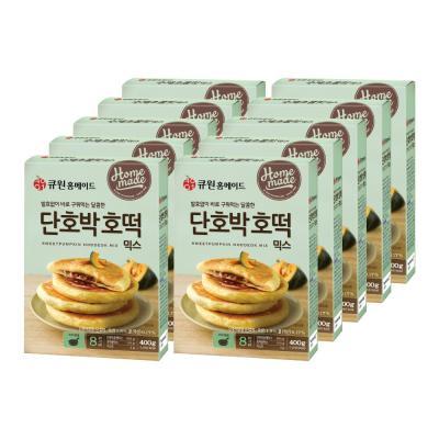 (한박스/10개입) 큐원 단호박호떡믹스 (프라이팬용)