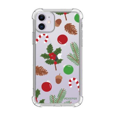 뮤즈캔 ADEEPER 아이폰 11 크리스마스 패턴 케이스