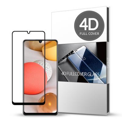스킨즈 갤럭시A42 5G 4D 풀커버 강화유리 필름 1매