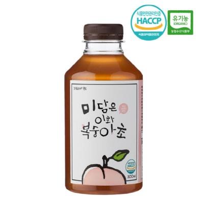 미담은 설탕없는 발효식초 이화초 복숭아 식초