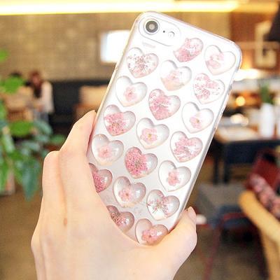 벚꽃 하트 케이스(갤럭시S8플러스)
