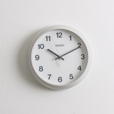 오리엔트 무소음 OT828L 라운드 인테리어벽시계