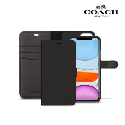코치 레더 폴리오 케이스 아이폰11 프로 맥스용