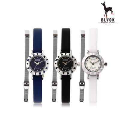 [블랙마틴싯봉] 여성 가죽 손목시계 BKL1531L