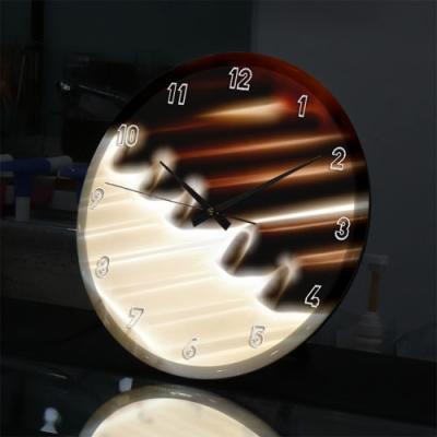nf734-LED시계액자35R_빛나는피아노