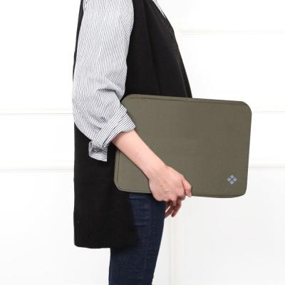 애니클리어 캔버스 노트북 파우치 PDB-BCP
