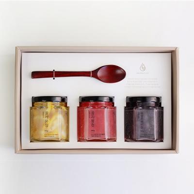 [우드스푼] 꿀수제청 3종 선물세트