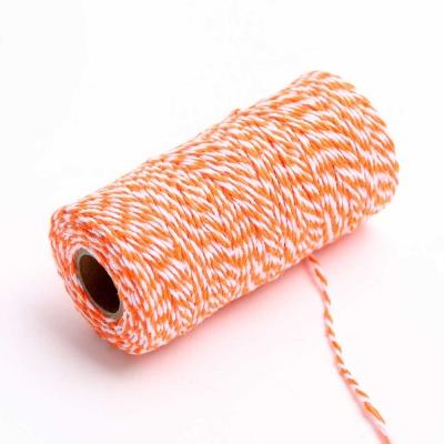 트와인 끈 100M - 오렌지