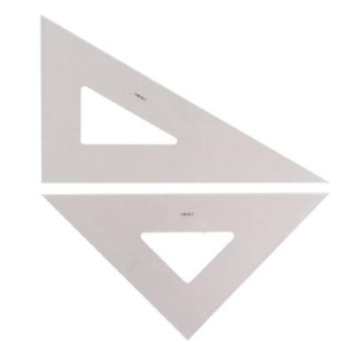 삼각자(잉킹) 45cm (스모키)(개) 252444