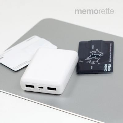 메모렛 MP-10000G 보조배터리 10000mAh 초소형
