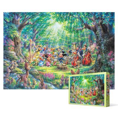 1000피스 직소퍼즐 - 디즈니 숲속의 연주회
