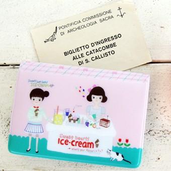 카드케이스 - 아이스크림