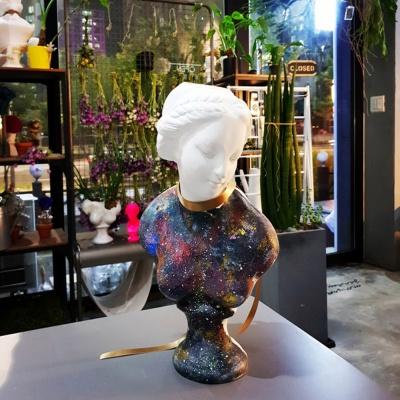 그림아트 은하수 중형 비너스여인 석고상화분 38cm