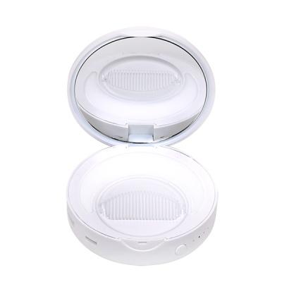 탐닉 플러스 LED 손거울 보조배터리_화이트 러브