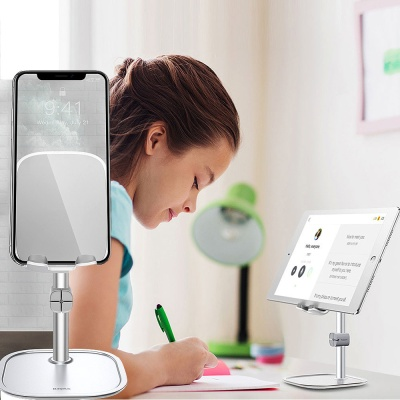 휴대폰/태블릿 스탠드형 거치대 각도조절/탁상용/온라