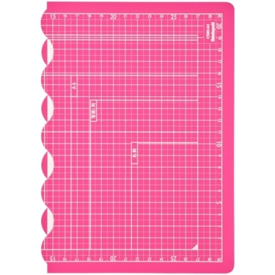 [나카바야시] 접이식커팅매트A4 핑크 [개/1] 383281