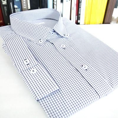 [베네]모눈 체크 반팔 셔츠