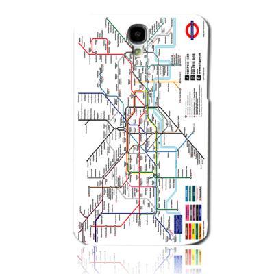 런던 지하철지도 하드케이스(갤럭시S4)