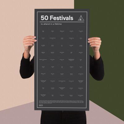 [도이] 살면서 한번은 가볼만한 축제 50 포스터