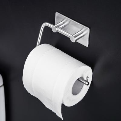 메탈 욕실 접착식 화장실 휴지 화장지 걸이