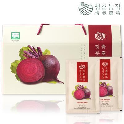 청춘농장 유기농 레드비트즙 1박스 30포
