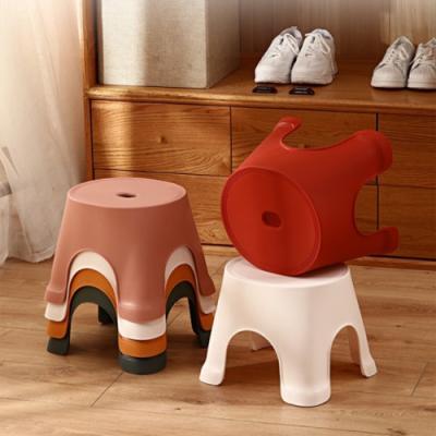 모던 심플 욕실의자 1개(색상랜덤)