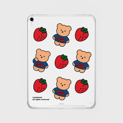 Strawberry bear(아이패드-투명)