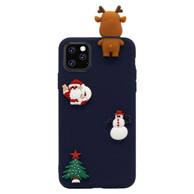 P209 아이폰11프로 3D 크리스마스 실리콘 케이스