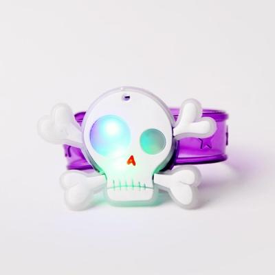 LED점등 할로윈해골팔찌
