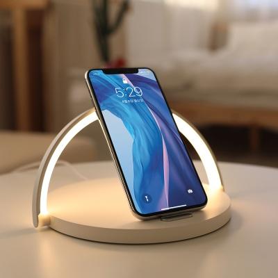 [스타트업 협찬] 모던심플 고속 무선충전 LED 무드등