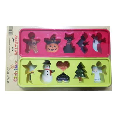 쿠키커터세트10p (크리스마스+할로윈)