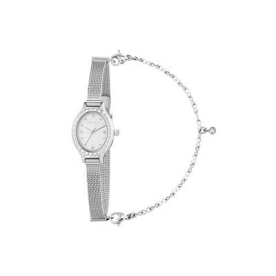 로지 시계 화이트  W219MWWH
