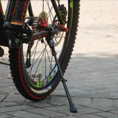메탈릭 자전거스탠드 받침대/길이조절형 주차 거치대