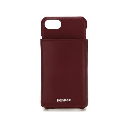 FENNEC iPHONE 7/8 TRIPLE POCKET CASE - WINE