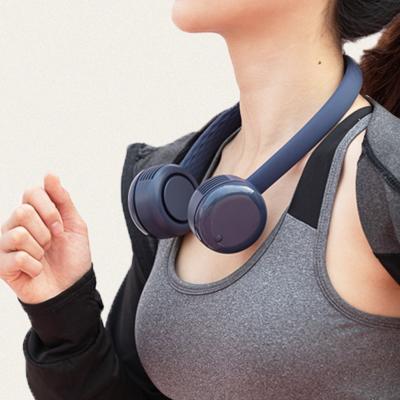 단순생활 1+1 넥밴드 휴대용 선풍기