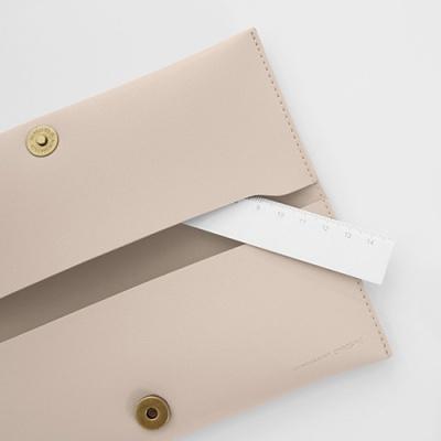 Double pocket case_Beige