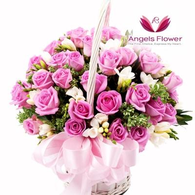 [엔젤스플라워] 위드유_고급형 전국꽃배달서비스 AGFYHF12PR