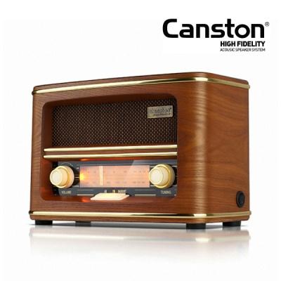 캔스톤 TR-3300 레트로 블루투스 라디오 스피커