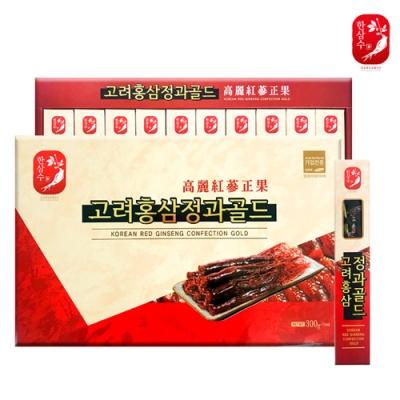 [한삼수] 고려홍삼 정과골드 30gx10개입