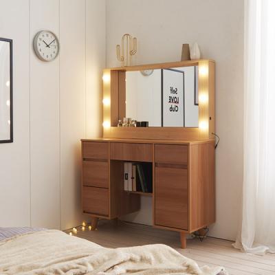[Ldlab] 데일리 프리미엄 LED조명 수납화장대