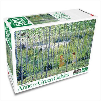 빨강머리 앤 직소퍼즐 500pcs: 자작나무 숲의