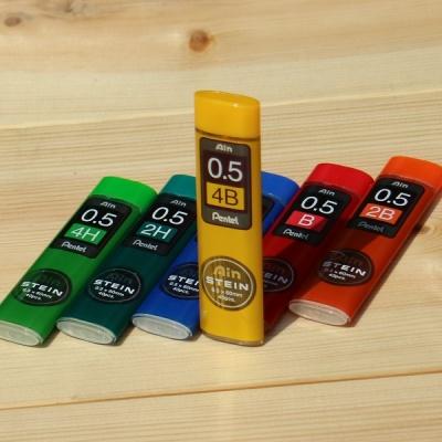 [Pentel] 0.5mm 샤프심-일본 펜텔 AIN STEIN C275