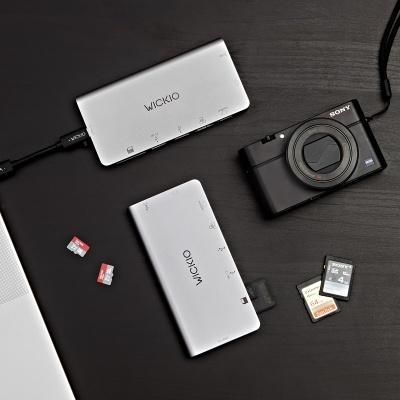 위키오 USB허브 C타입 허브젠더 6종 시리즈 -CRH001