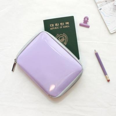 레이지라운지 글로시 여권지갑