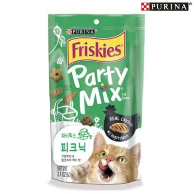 퓨리나 프리스키 파티믹스 피크닉 60g (고양이간식)