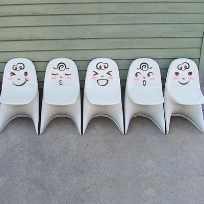 빠띠라인 욕실 디자인스티커 b062_요기조기페이스 시리즈