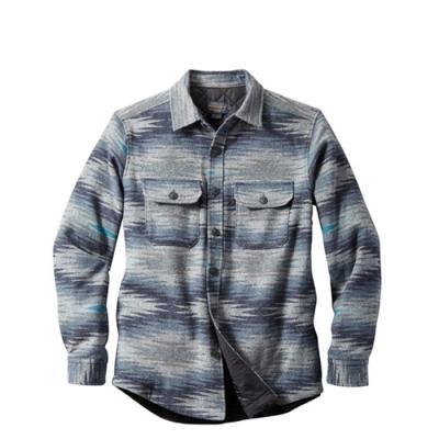 [펜들턴] 셔츠 자켓 매직 밸리 퀼팅 울 블루